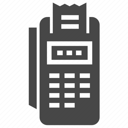 card, payment, terminal icon