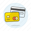 card, credit, magnetic, payment, stripe icon