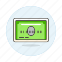 card, credit, payment, standard icon
