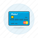 card, credit, master, mastercard, payment icon