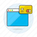 1, app, card, credit, online, payment, purchase icon