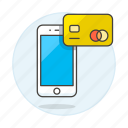 card, credit, mobile, online, payment, phone, purchase