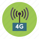 payment, wireless, network, connection, internet, 4g, tower icon