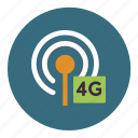 payment, wireless, signal, network, connection, 4g, tower icon
