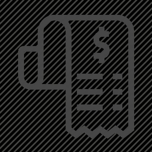 check, list, shopping icon