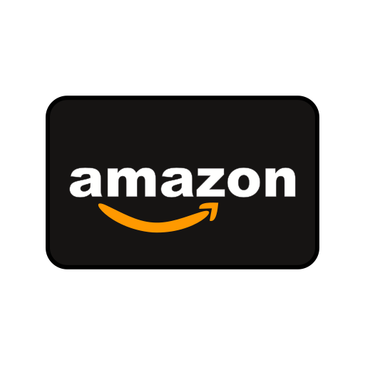 amazon, online payment, online transaction, payment method icon