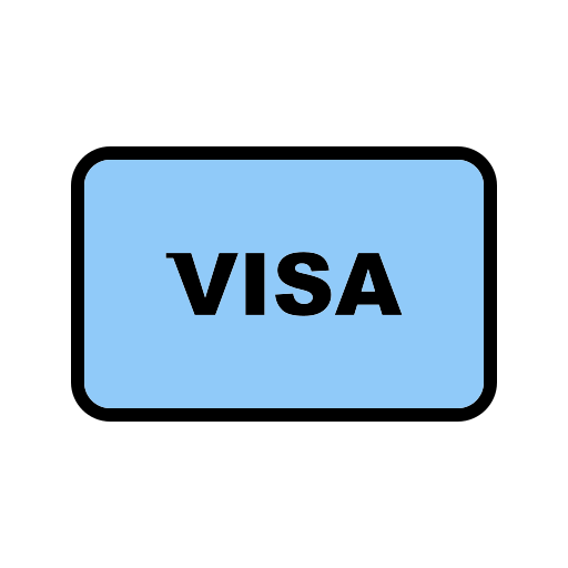 online payment, online transaction, payment method, visa icon