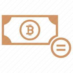 account, bitcoin, equally, money, operation, sum icon