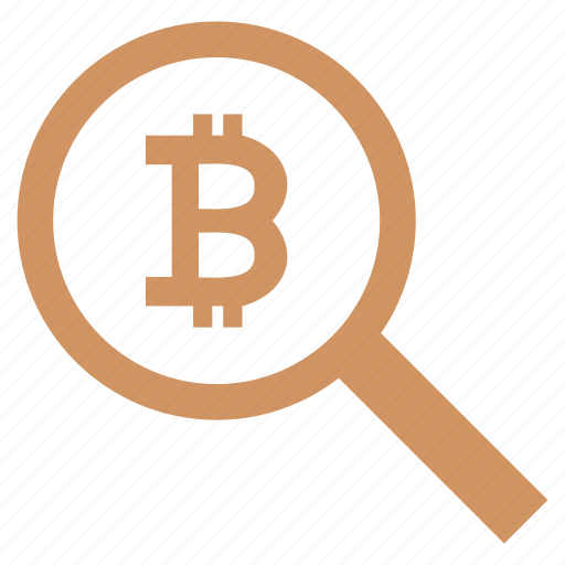 account, bitcoin, find, history, money, search icon