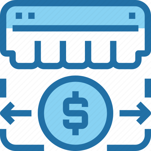 banking, business, money, payment, shopping, store icon