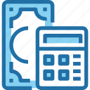 accounting, banking, business, finance, money, payment icon
