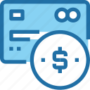banking, business, card, credit, money, payment icon
