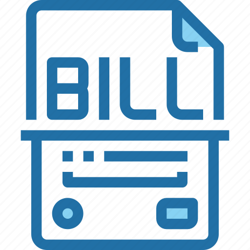 Banking, bill, business, document, file, money, payment icon - Download on Iconfinder