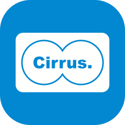 cirrus, online payment, online transaction, payment method icon