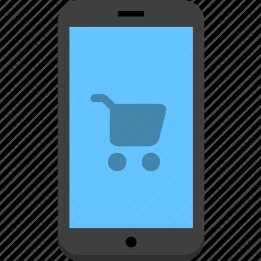 mobile, mobile store, store icon