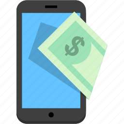 earnings, income, mobile, pay, revenue icon