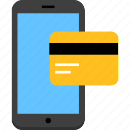 finance, mobile payment, payment icon