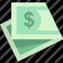 balance, cash, earnings, finance, income, money, revenue icon