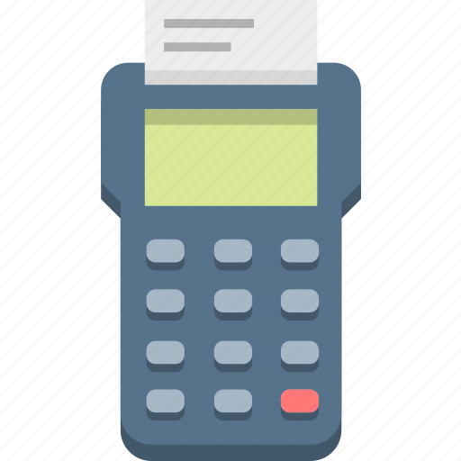 finance, invoice, payment, pos, receipt icon