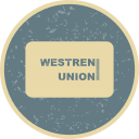 online payment, online transaction, payment method, union, westren icon