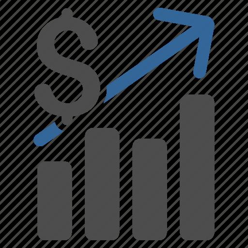 business, data, finance, financial chart, graph, money, report icon