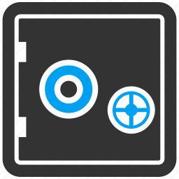 banking, box, deposit, locker, safe, safety, storage icon
