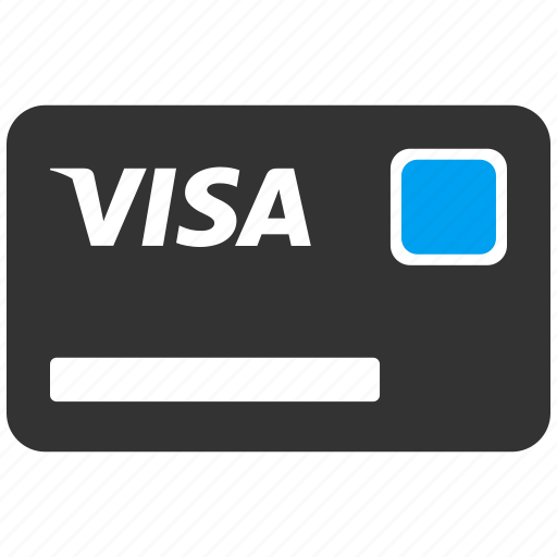 buy, finance, financial, money, payment, shopping, visa card icon