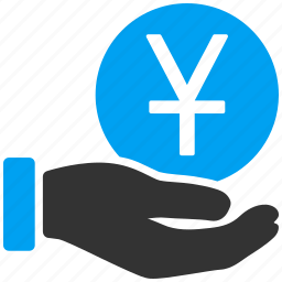 banking, china, chinese yuan, gain, japan, japanese yen, treasury icon