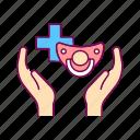 care, child, health, medical, pediatrics icon