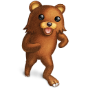 little girls, pedobear icon