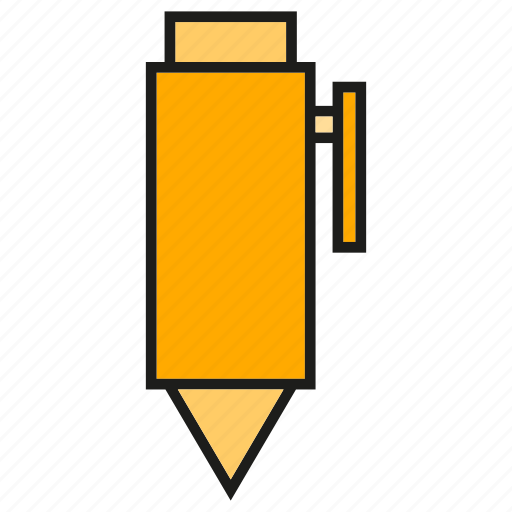 office tool, painting tool, pen, penncil, stationery, writing icon