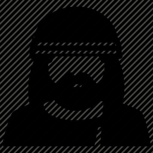 arab, arabic, avatar, man, oman, sultan icon
