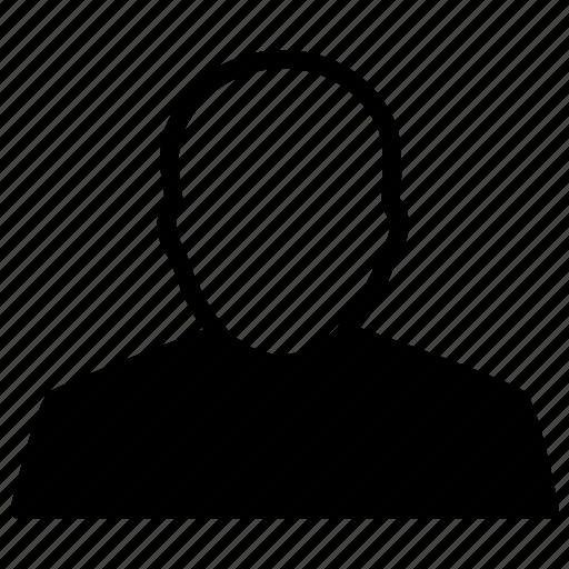 avatar, bald, face, hairless, head, man icon