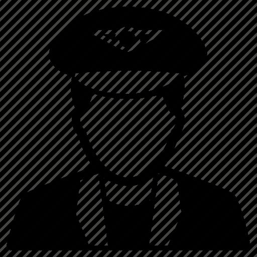chauffeur, conductor, driver, man, motorist, taxi icon