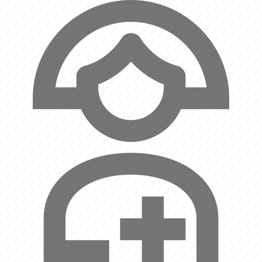 avatar, female, hospital, human, medical, nurse, occupation, people icon
