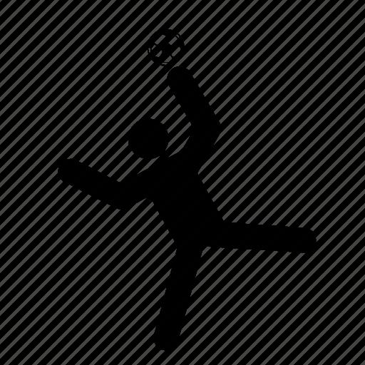 handball, man, people, person, sport, sportsman icon