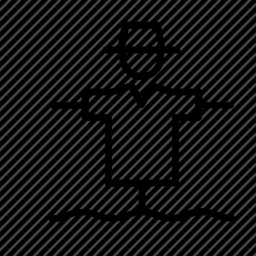 Farm, farming, man, people, person, scarecrow icon - Download on Iconfinder