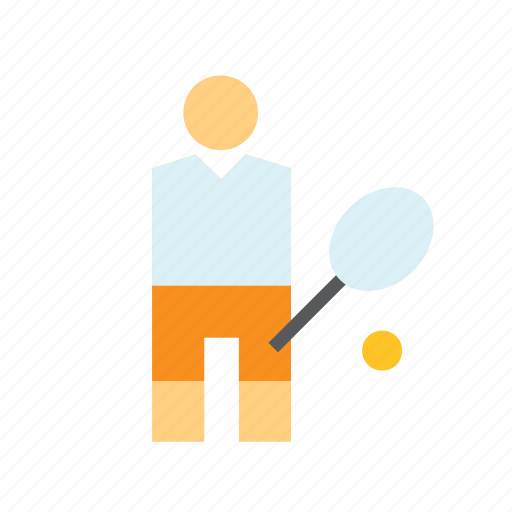Man, people, person, player, sport, sportsman, tennis icon - Download on Iconfinder