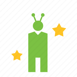 alien, people, person icon
