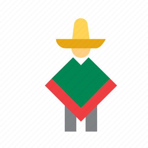man, mexican, mexico, people, person icon