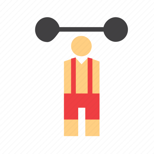 circus, man, people, person, strong, strongman icon