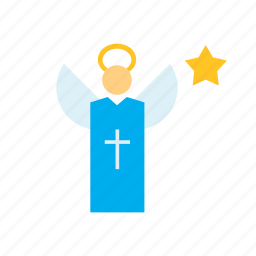 angel, people, person, religion icon