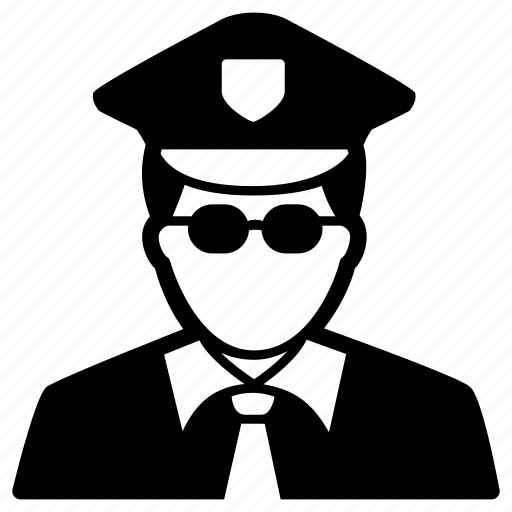 authority, cop, guard, officer, police icon