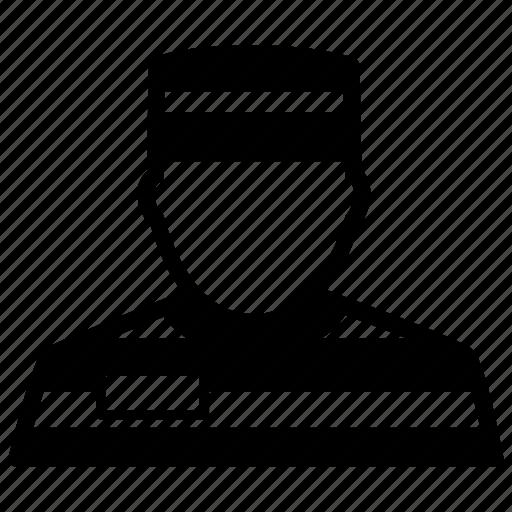 avatar, criminal, jailbird, prison, prisoner icon