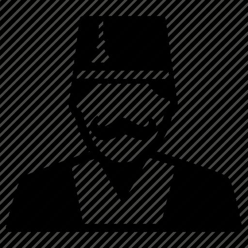 man, person, turkey, turkish icon
