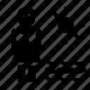 account, profile, sea, user icon