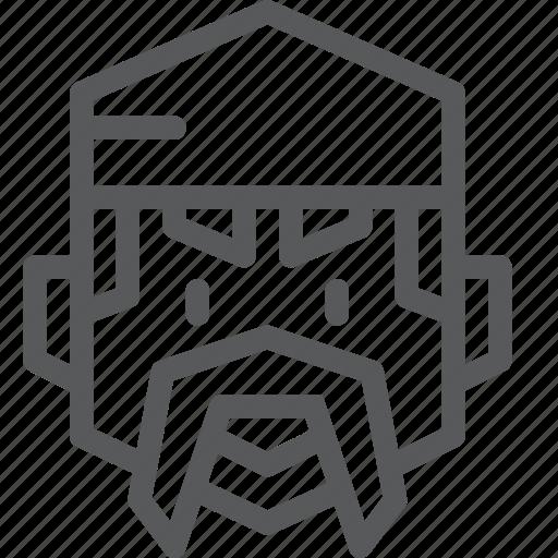 avatar, face, headband, job, mechanic, moustache, occupation icon