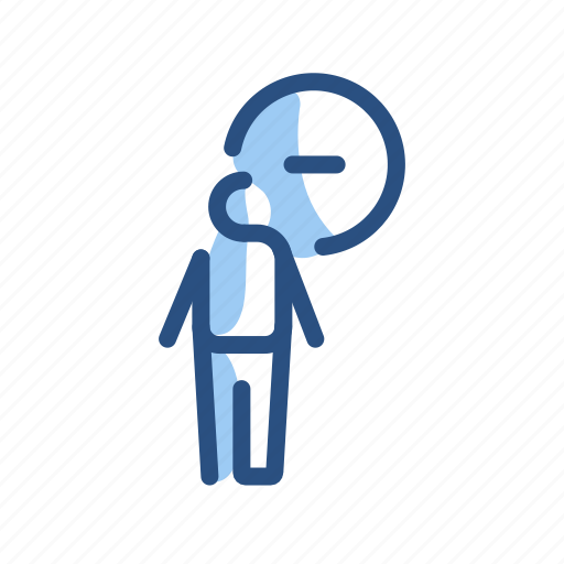Delete, man, minus, remove icon - Download on Iconfinder