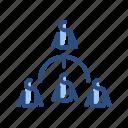 leader, people, team, work icon