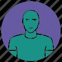bald, bald man, bodybuilder, man, skinhead, strong man icon
